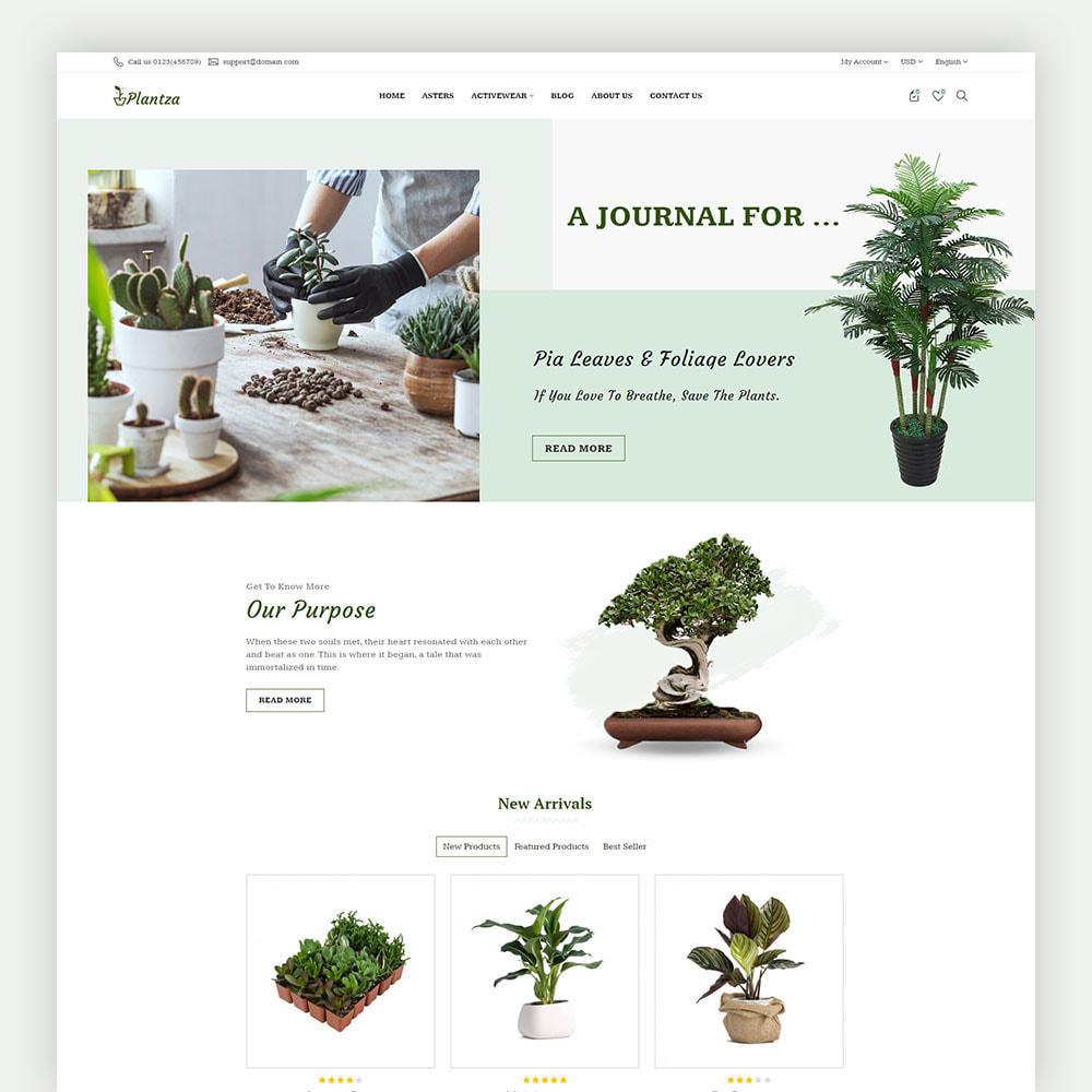theme - Dom & Ogród - Plantza Plant Store - 2
