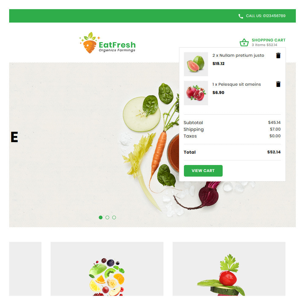 theme - Мода и обувь - EatFresh Vegetables & Fruits Shop - 7