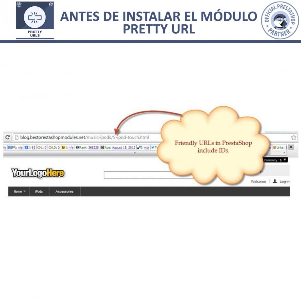 module - URL y Redirecciones - Pretty URLs - Eliminar Ids y números desde de URL - 20