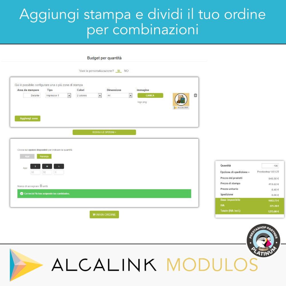 module - Grandezze & Unità di misura - Budget per volume - Acquisto rapido - 5