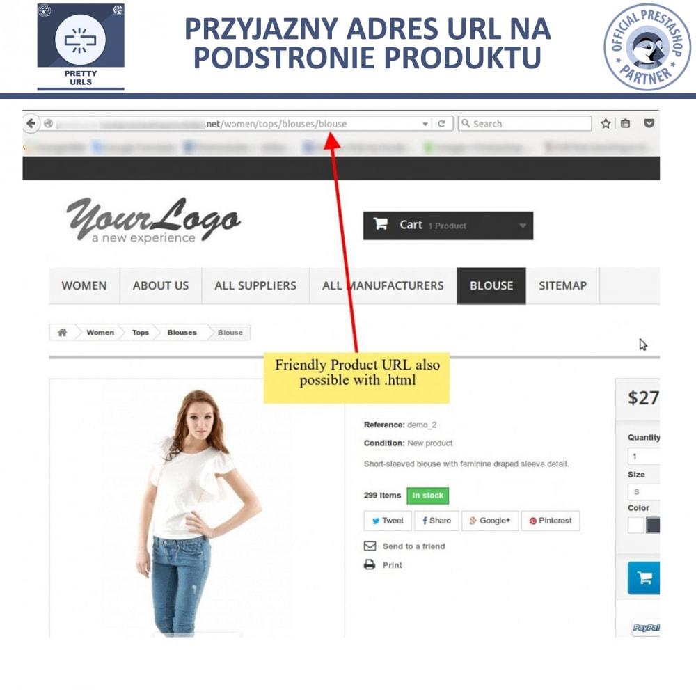 bundle - URL & Przekierowania - Starter Pack: Professional Blog + Pretty URL - 13