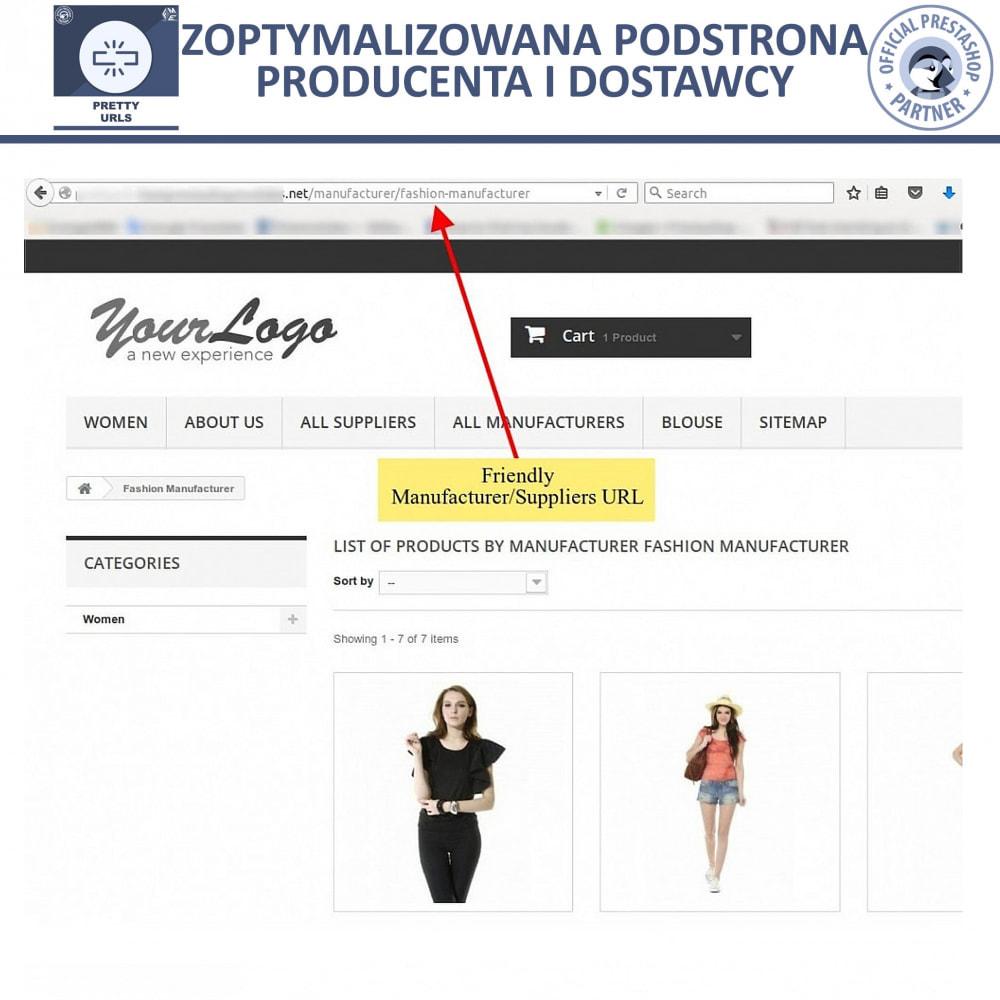 bundle - URL & Przekierowania - Starter Pack: Professional Blog + Pretty URL - 14
