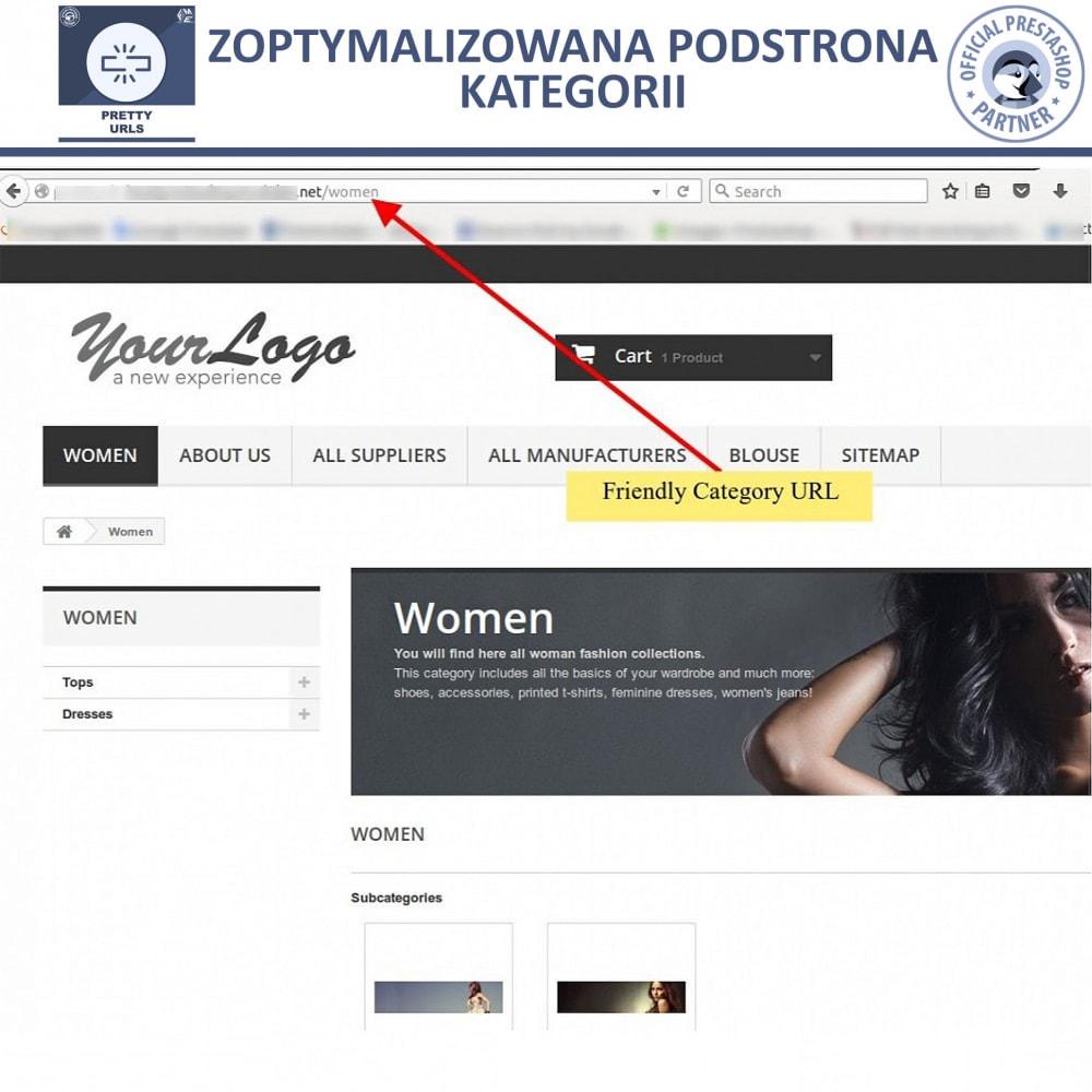 bundle - URL & Przekierowania - Starter Pack: Professional Blog + Pretty URL - 15