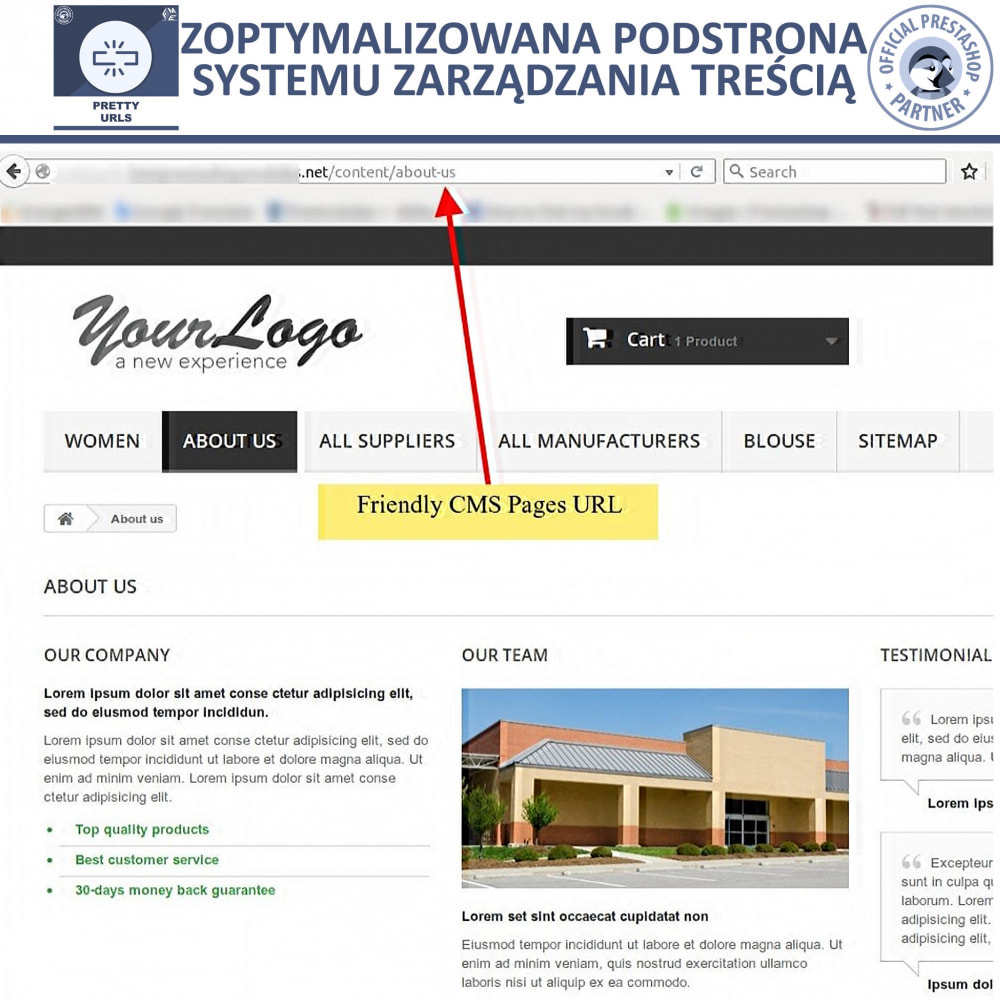bundle - URL & Przekierowania - Starter Pack: Professional Blog + Pretty URL - 16