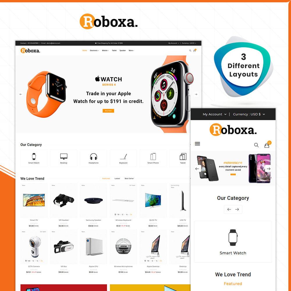 theme - Электроника и компьютеры - Digital Electronics –Roboxa Electro Store - 1