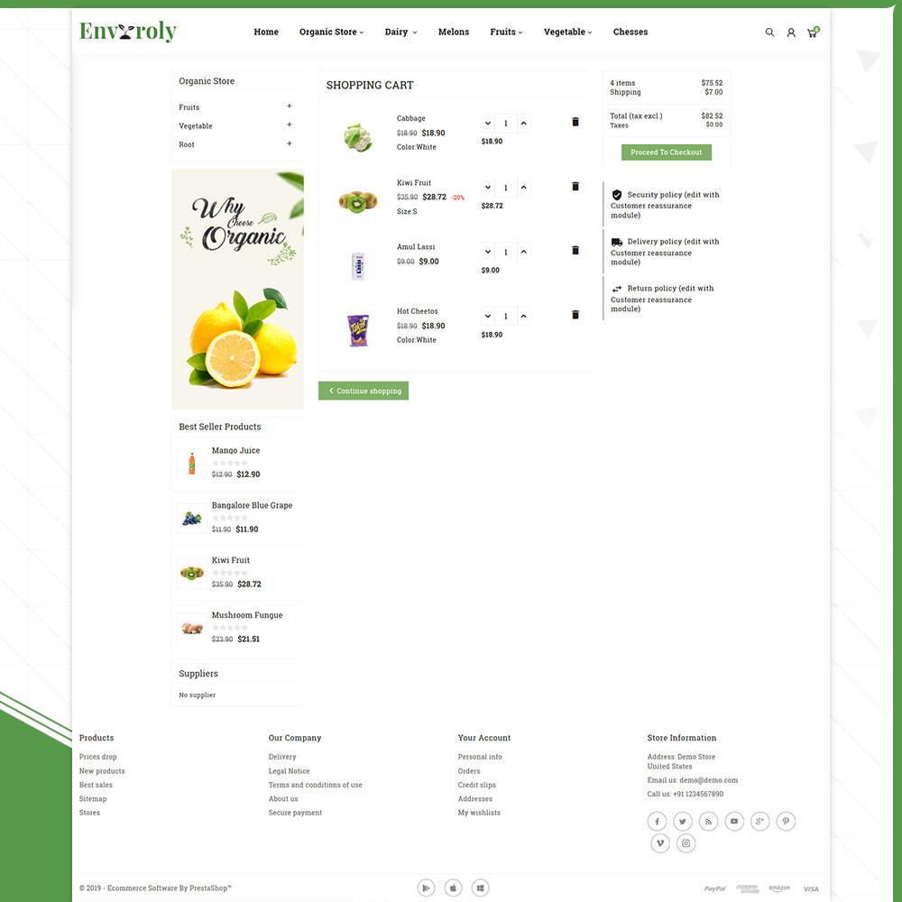 theme - Gesundheit & Schönheit - Envioly Grocery –Organic Store - 5