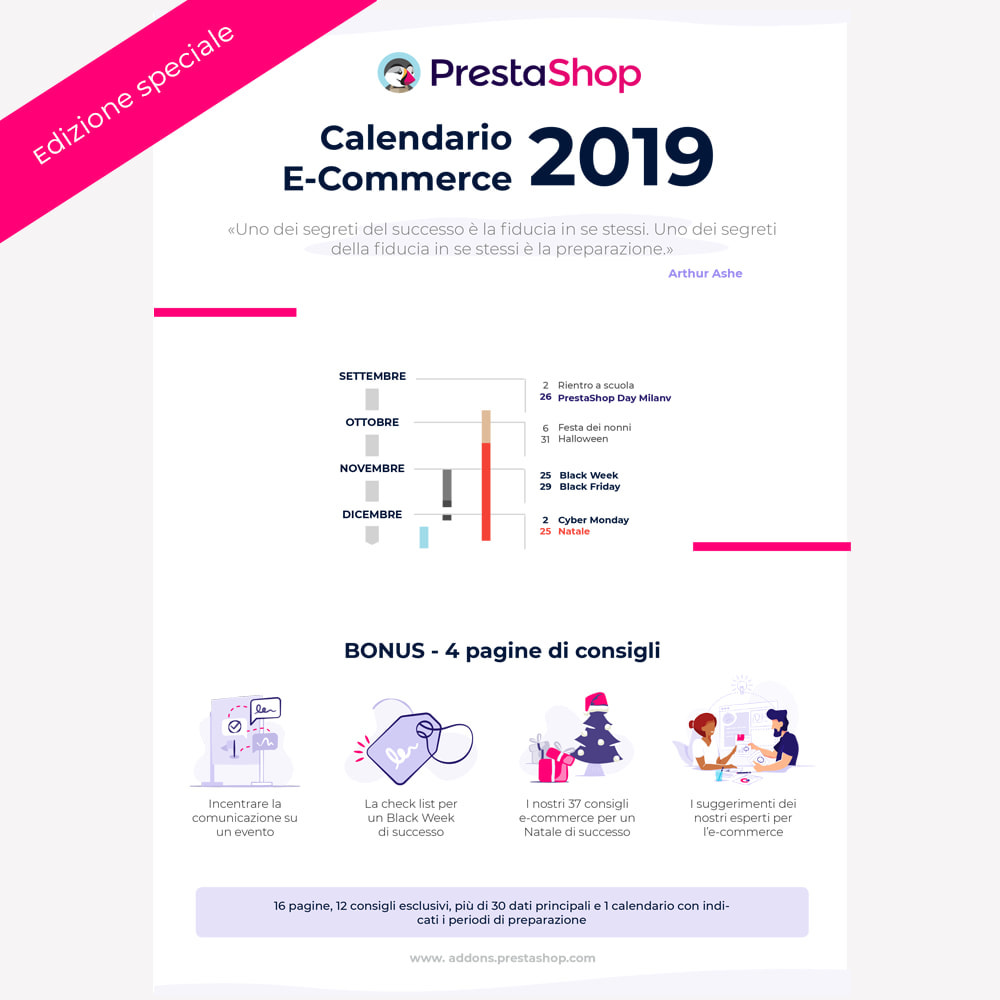 other - Calendario eCommerce - Calendario e-commerce 2019 di fine anno - 1