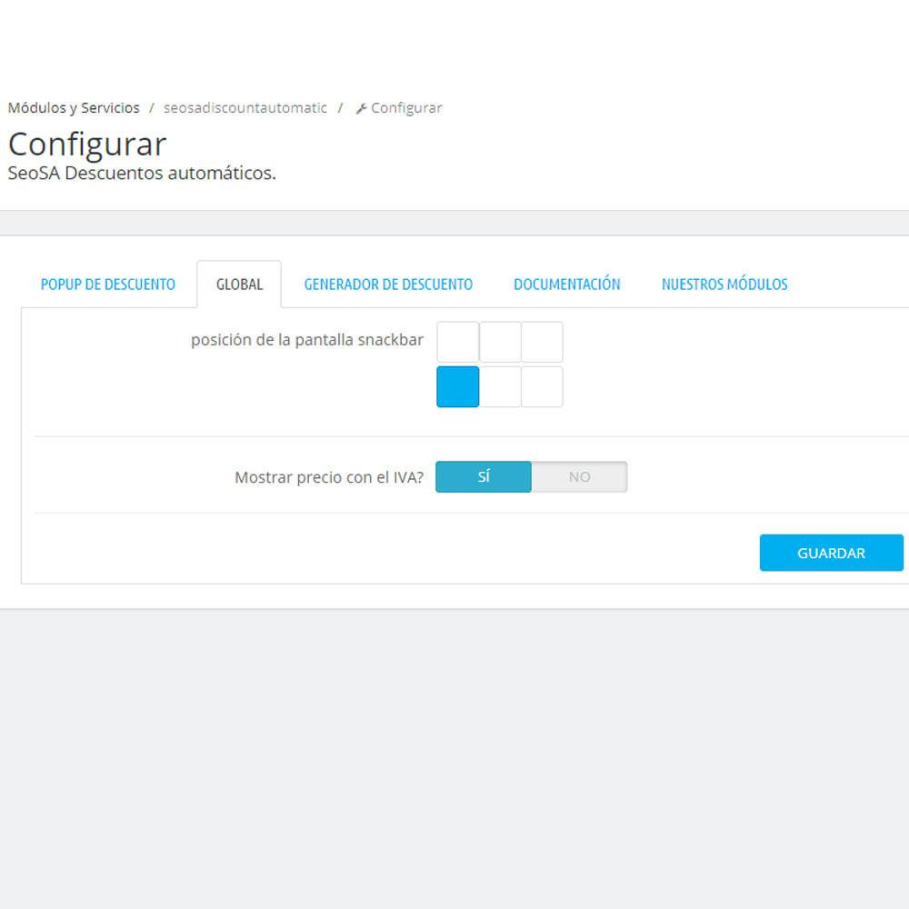 module - Ventas Privadas y Ventas Flash - Descuento automático para cada usuario - 4