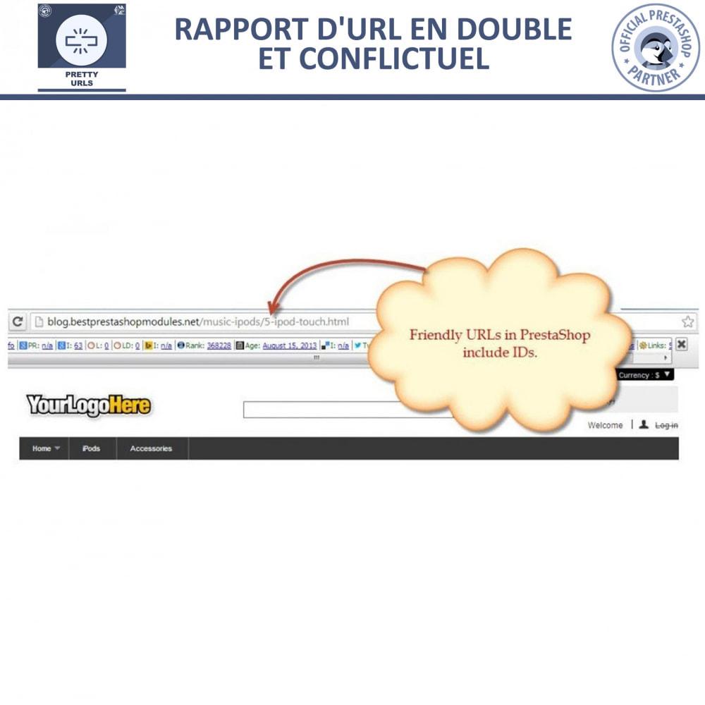 module - URL & Redirections - Pretty URLs  - Supprimez les ID et les numéros de l'URL - 10