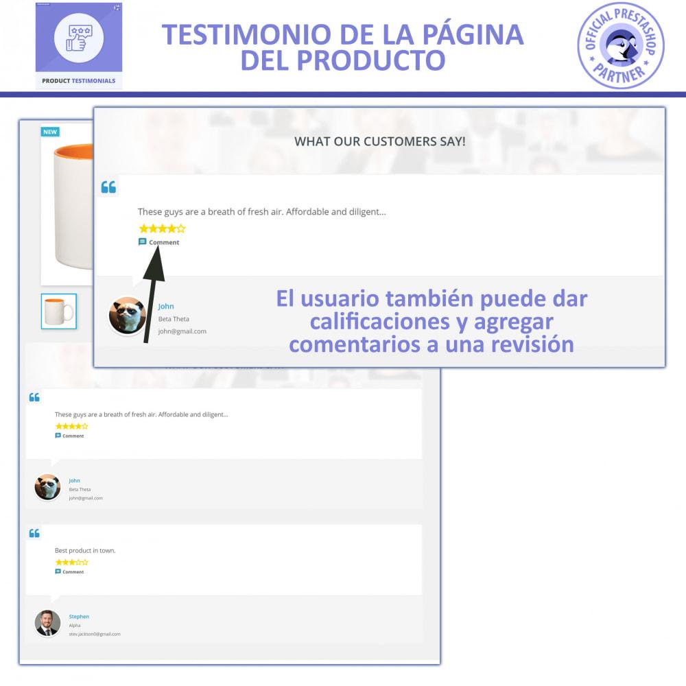 module - Comentarios de clientes - Opiniones Productos + Reseñas de la tienda - 2