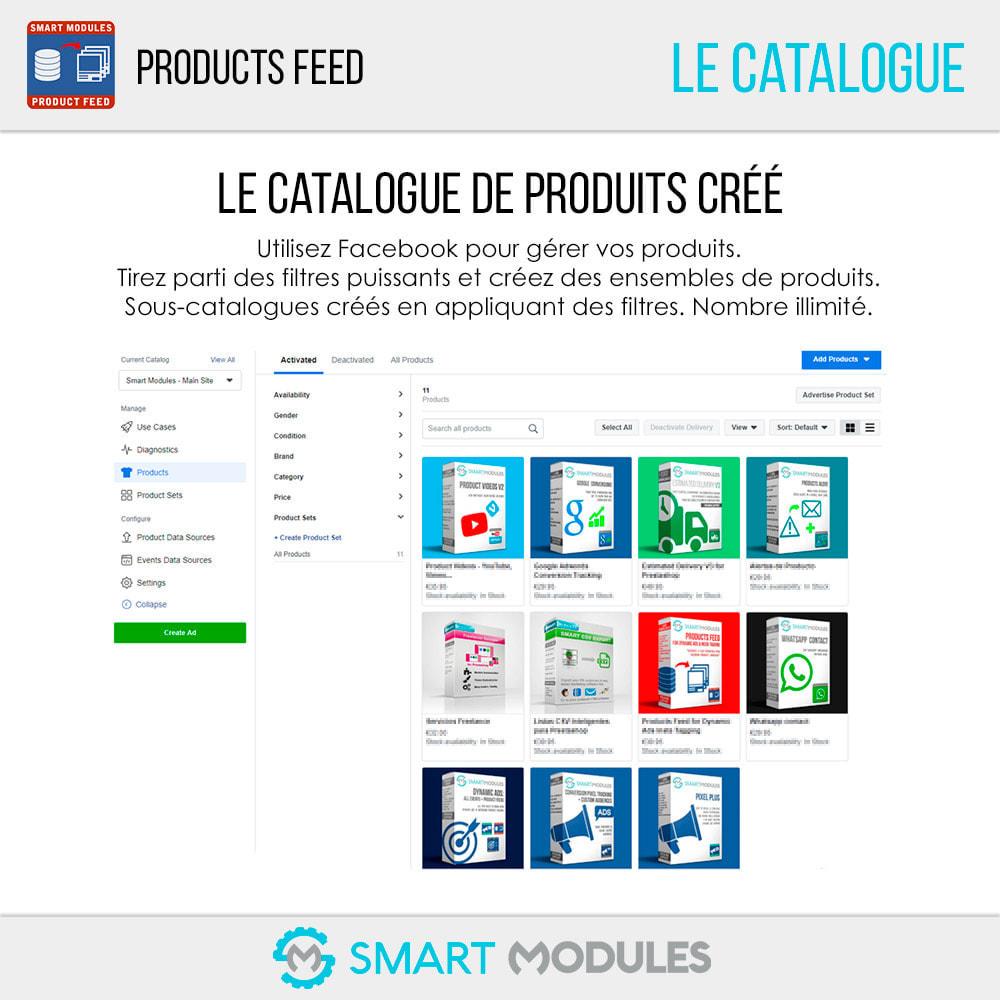 module - Référencement payant (SEA SEM) & Affiliation - Flux de Produits: Ad Dynamiques & Tags & Boutique - 7