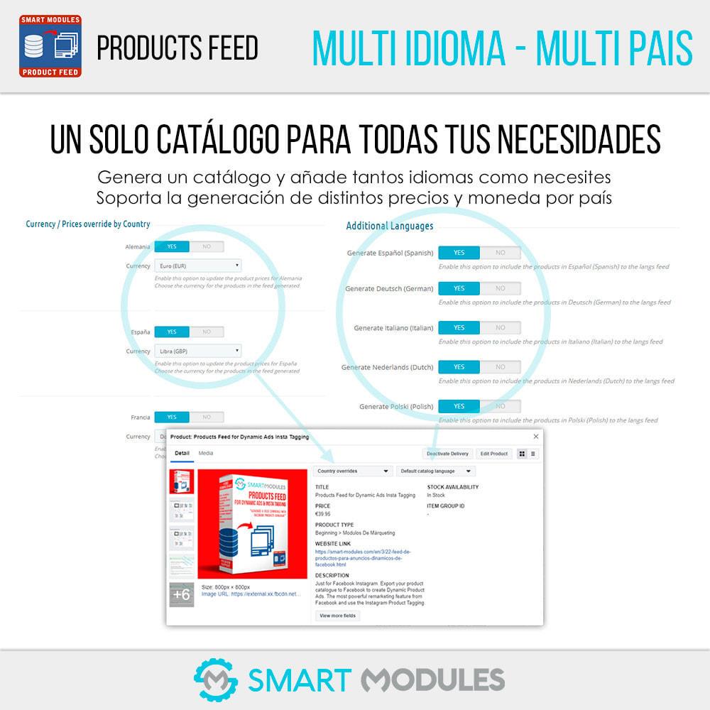 module - SEM SEA - Posicionamiento patrocinado & Afiliación - Feed de Productos: Anuncios Dinámicos & Tags & Tienda - 3
