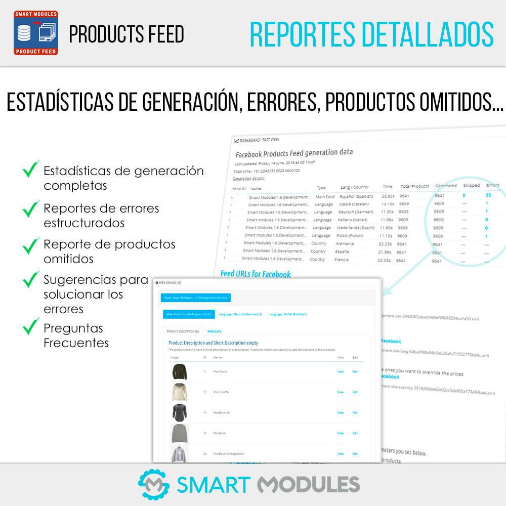 module - SEM SEA - Posicionamiento patrocinado & Afiliación - Feed de Productos: Anuncios Dinámicos & Tags & Tienda - 6