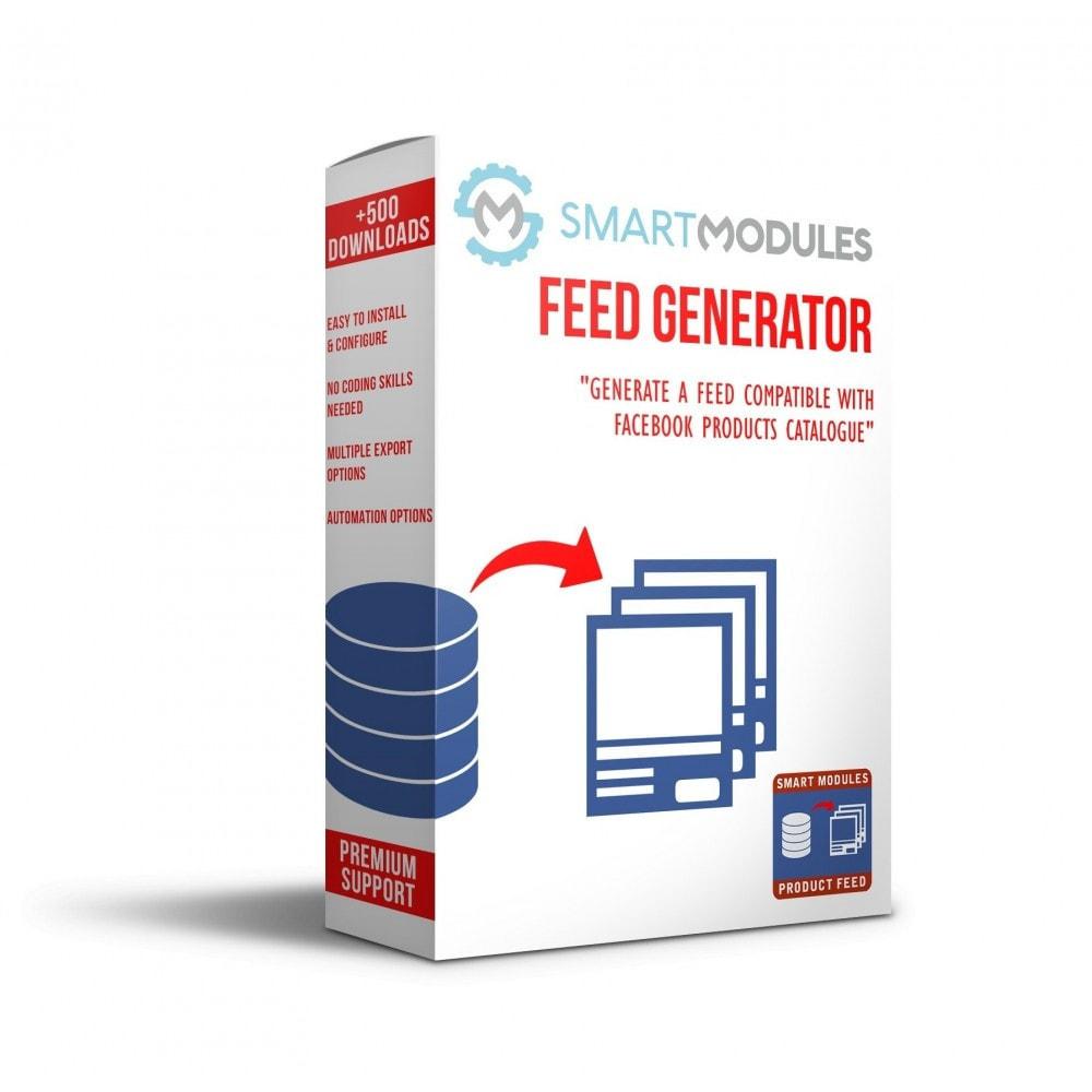 module - SEA SEM (Bezahlte Werbung) & Affiliate Plattformen - Produkte Feed für dynamische Werbungen & Tag & Shop - 1