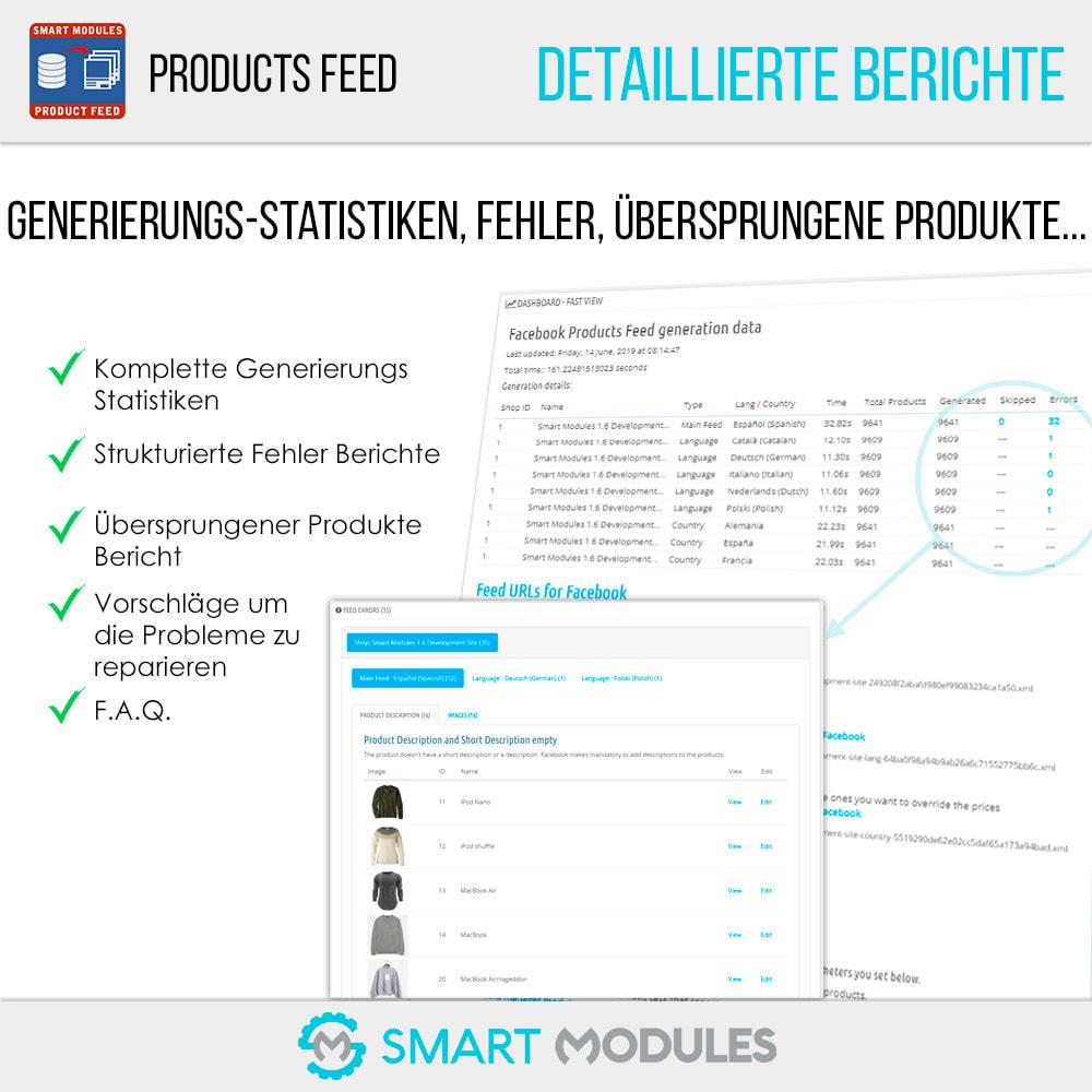 module - SEA SEM (Bezahlte Werbung) & Affiliate Plattformen - Produkte Feed für dynamische Werbungen & Tag & Shop - 6