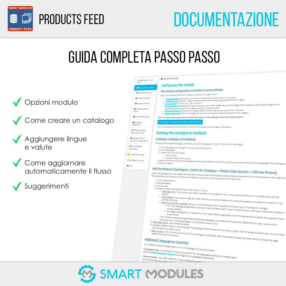module - Indicizzazione a pagamento (SEA SEM) & Affiliazione - Feed di Prodotti: Pubblicità Dinamica & Tag & Shop - 5