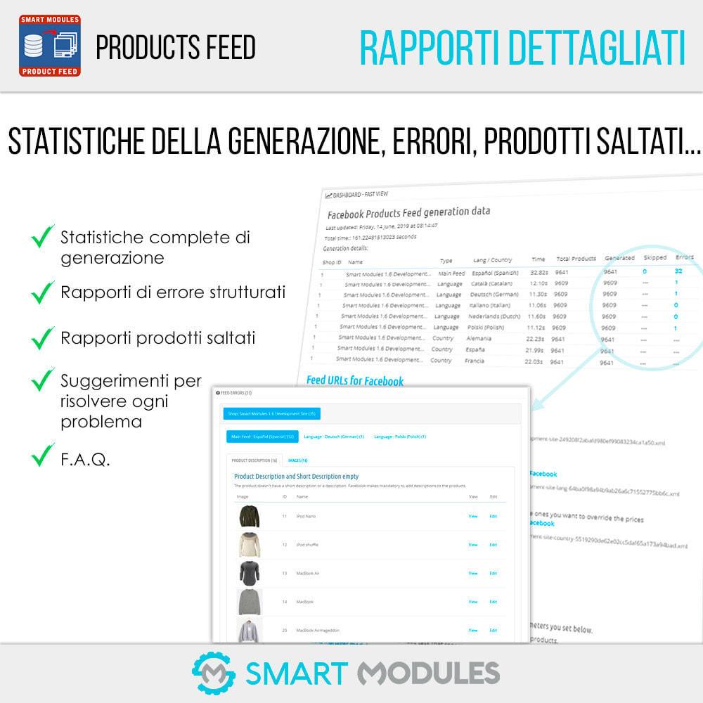 module - Indicizzazione a pagamento (SEA SEM) & Affiliazione - Feed di Prodotti: Pubblicità Dinamica & Tag & Shop - 6