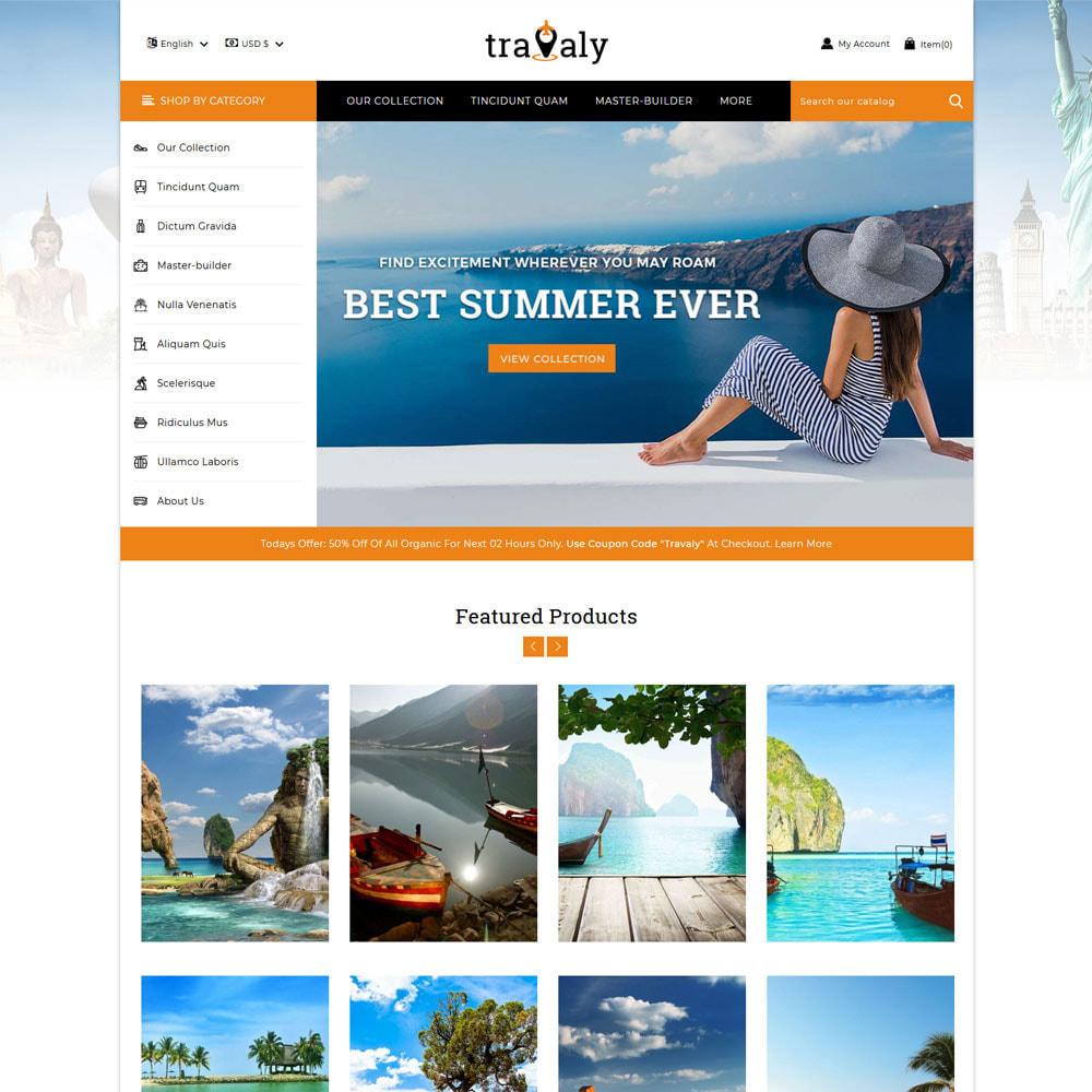 theme - Sport, Attività & Viaggi - Travaly -Il negozio del turismo - 3