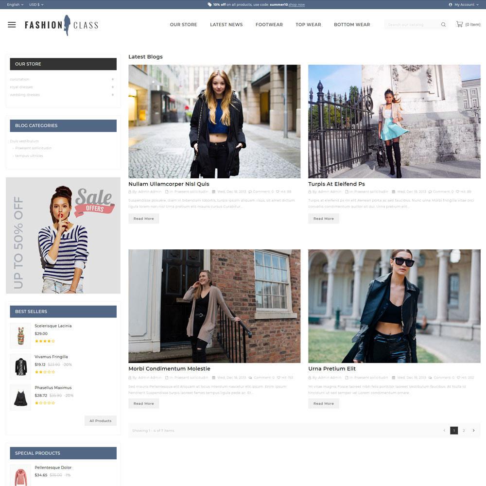 theme - Fashion & Shoes - Fashionclass - The fashion store - 7