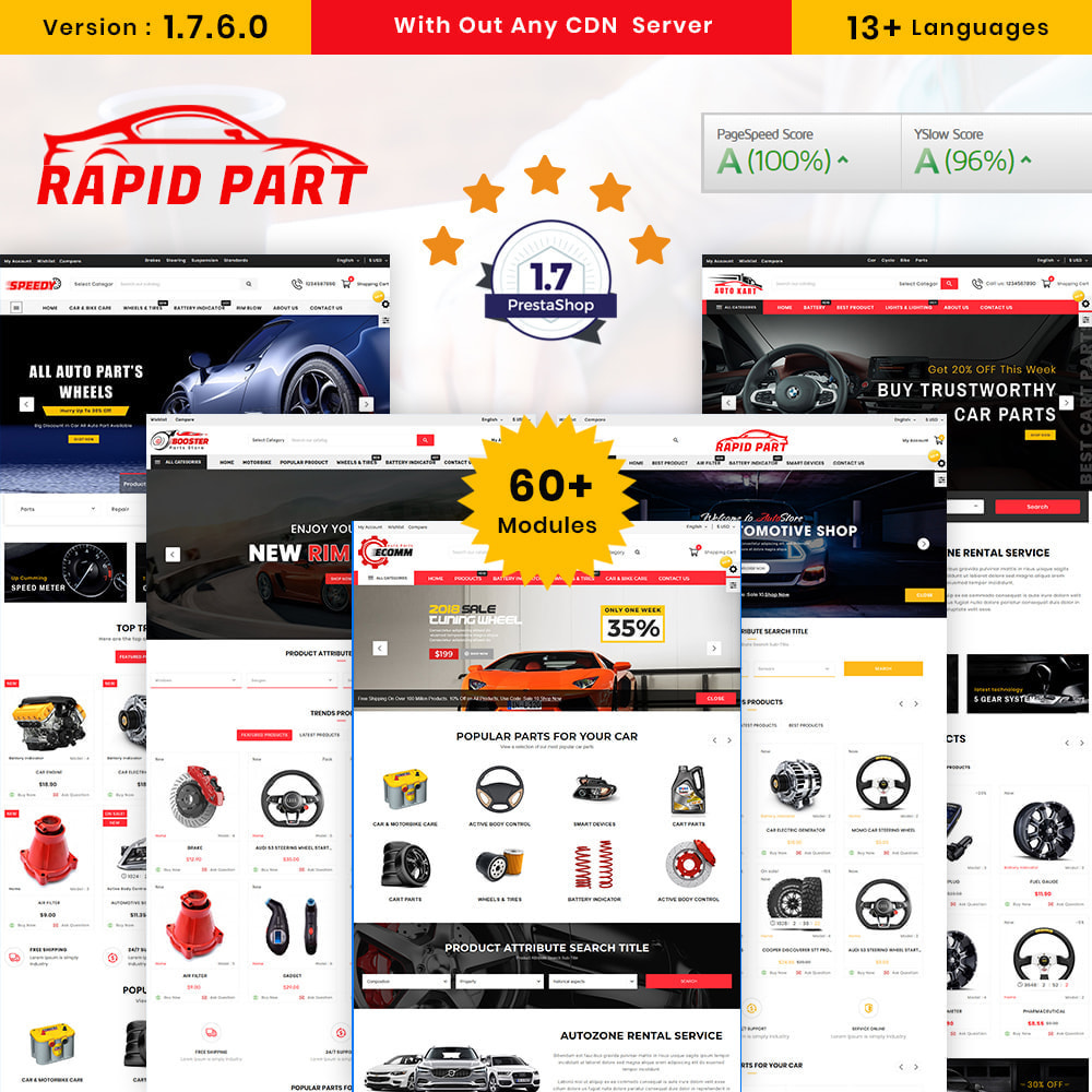 theme - Авто и Мото - AutoKart AutoPart Store - 1