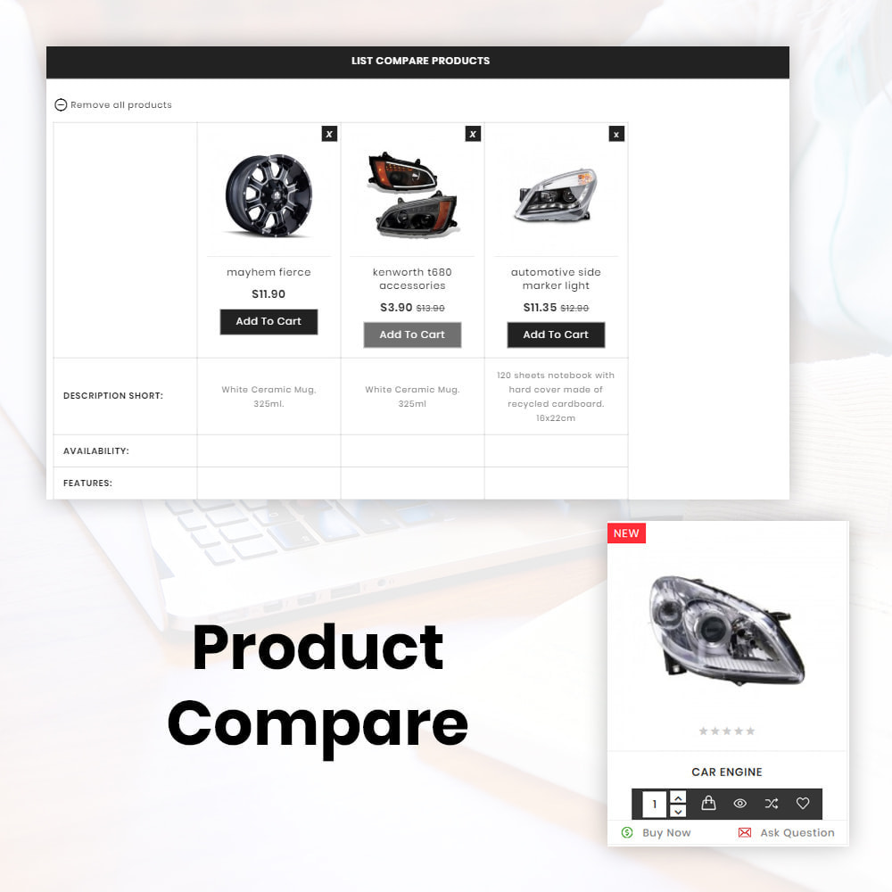 theme - Авто и Мото - AutoKart AutoPart Store - 8