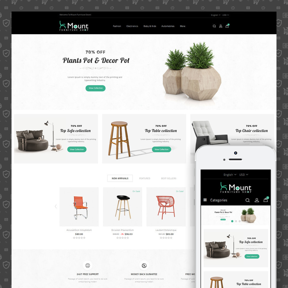 theme - Home & Garden - Mount - Furniture Store - 1