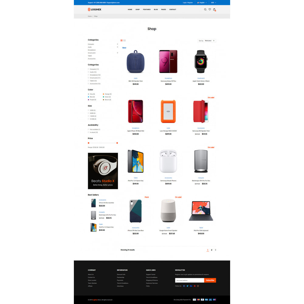 theme - Electronics & Computers - Logihex Digital Store - 11