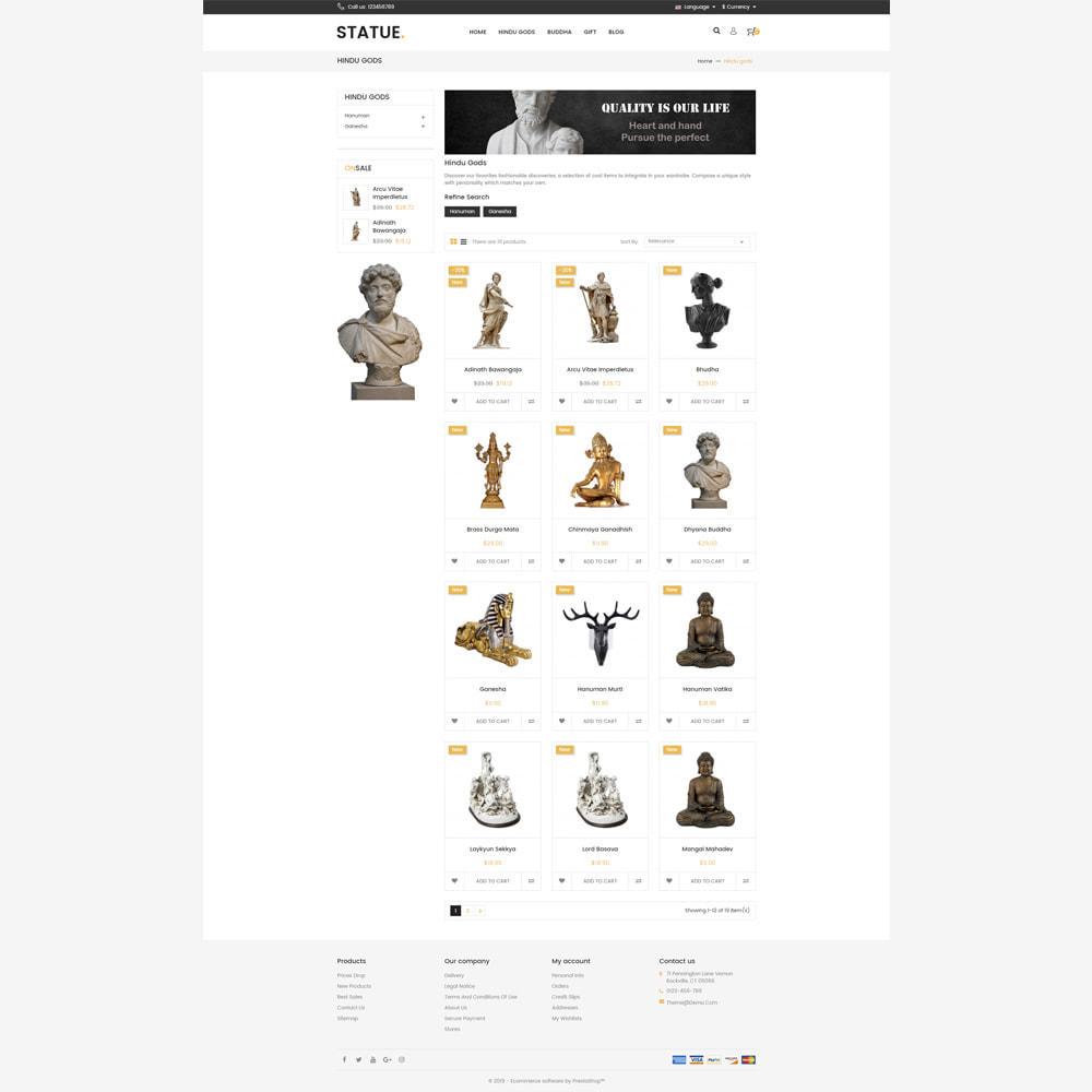 theme - Art & Culture - Statue - Responsive Store - 3