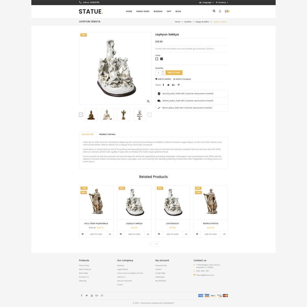 theme - Art & Culture - Statue - Responsive Store - 4