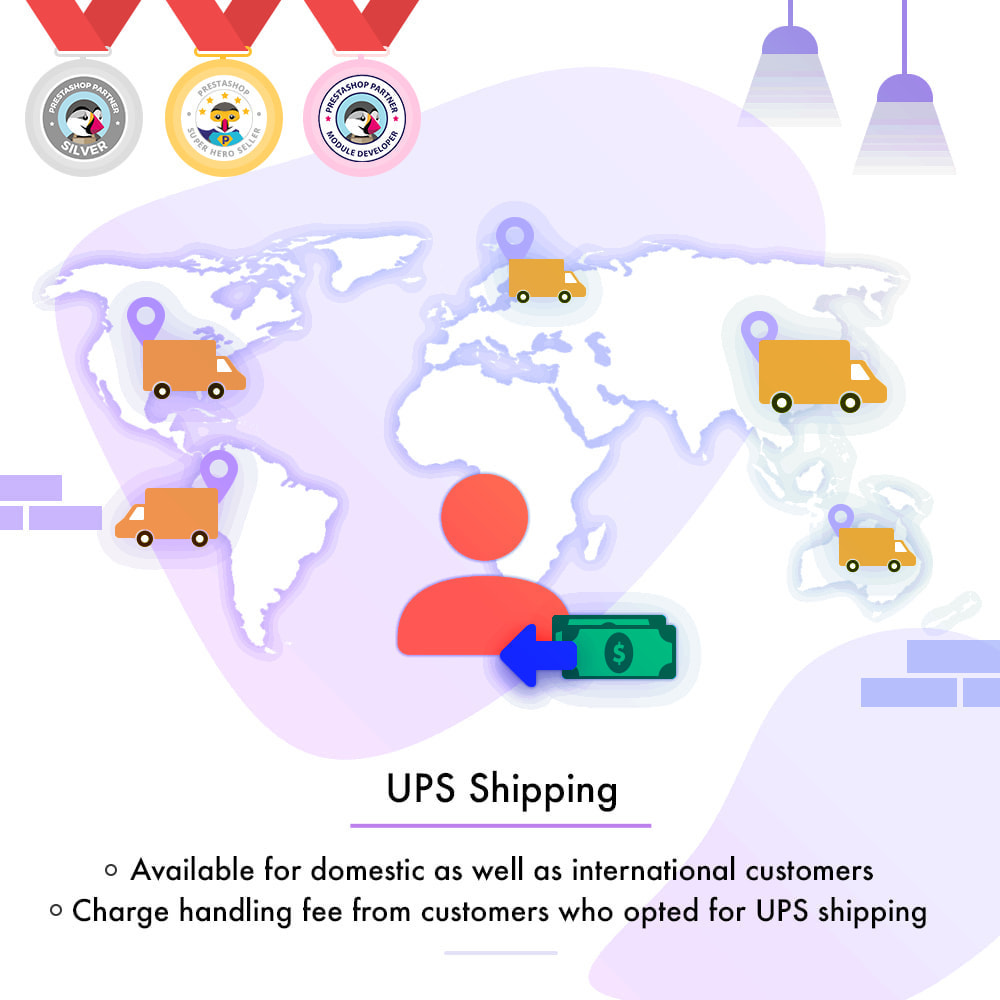 module - Shipping Carriers - UPS Shipping - API based delivery method - 1
