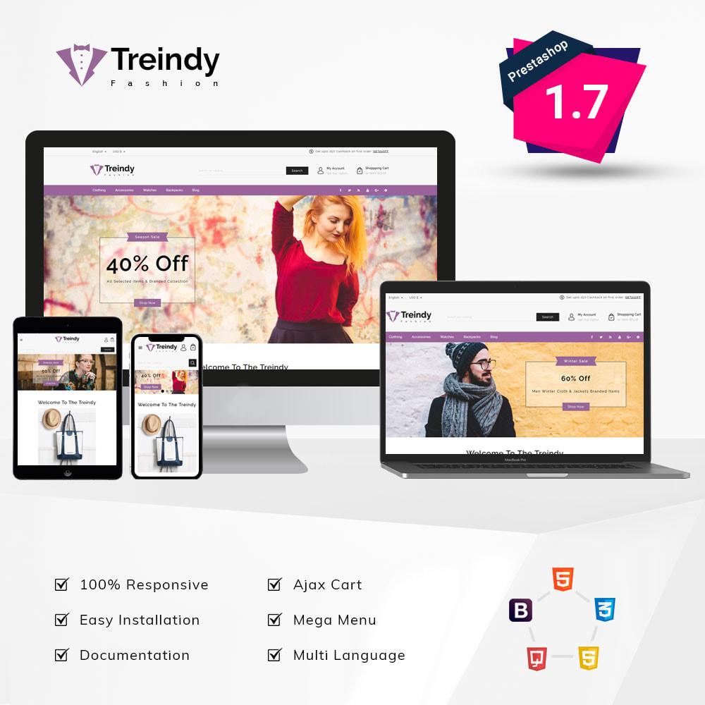 theme - Fashion & Shoes - Treindy Fashion Shop - 1