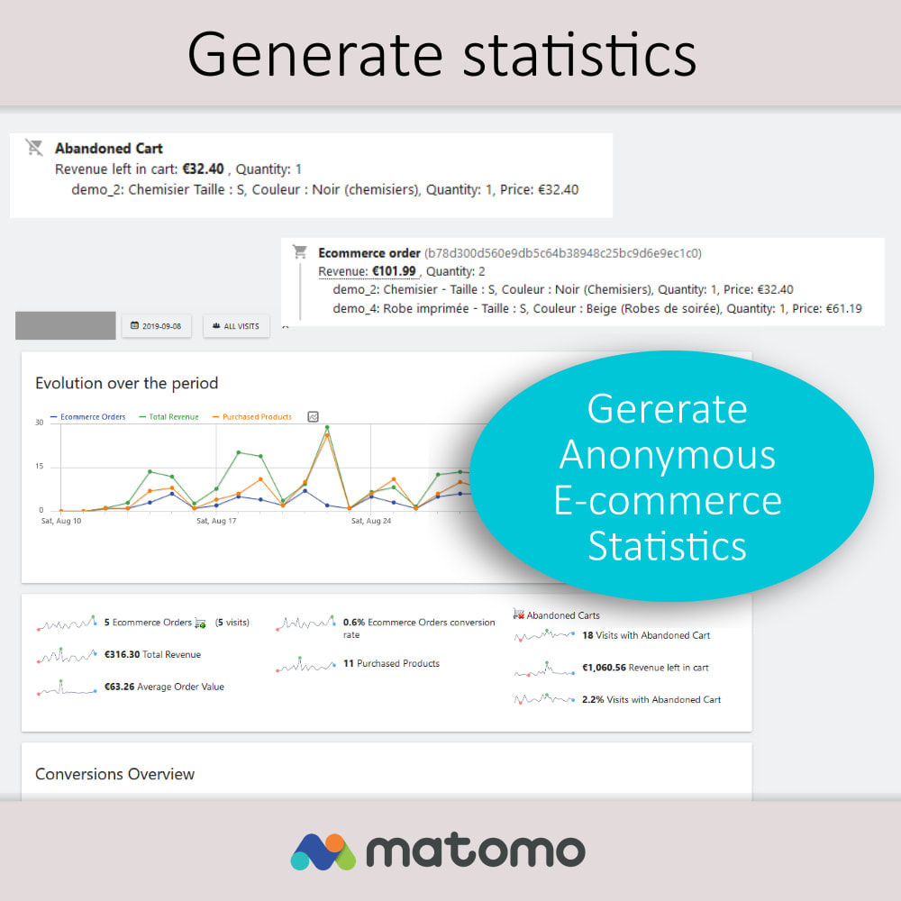 module - Analizy & Statystyki - Matomo Analytics Pro - GDPR Compliant - 8