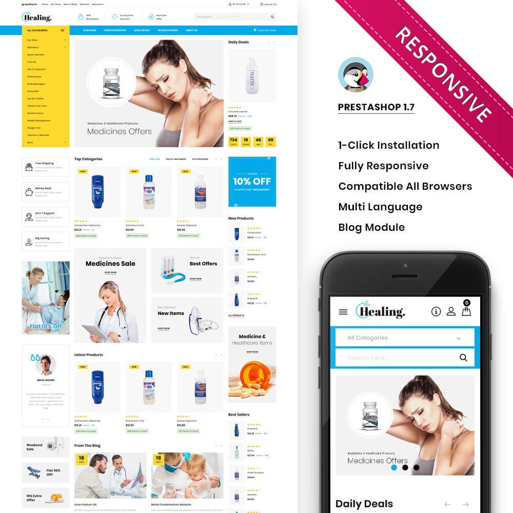 theme - Health & Beauty - Healing - The Drug Store - 1