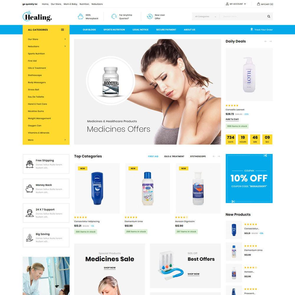 theme - Health & Beauty - Healing - The Drug Store - 3