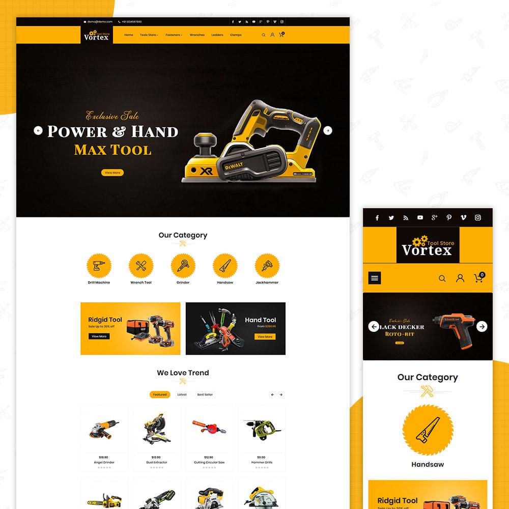 theme - Automotive & Cars - Tool Vortex - Toolen Store - 1