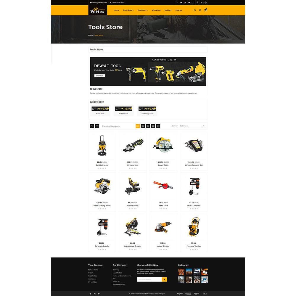 theme - Automotive & Cars - Tool Vortex - Toolen Store - 3