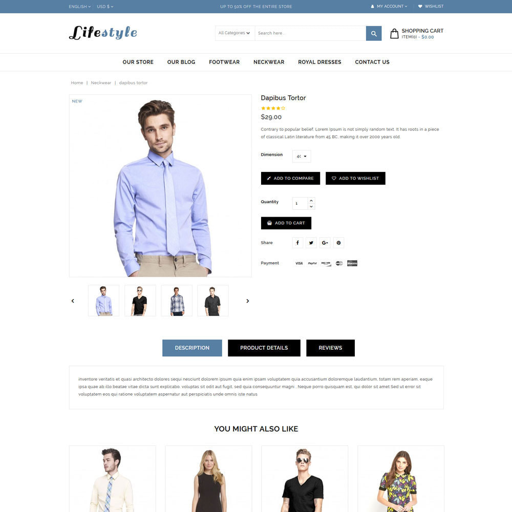 theme - Mode & Schoenen - Lifestyle Fashion Store - 6