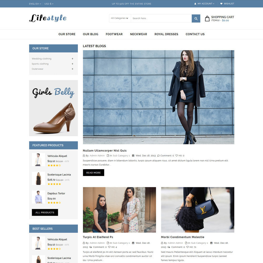 theme - Mode & Schuhe - Lifestyle Fashion Store - 7