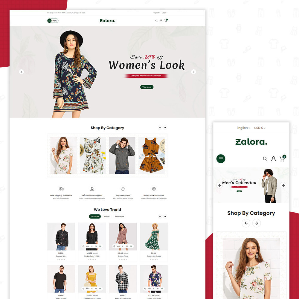 theme - Fashion & Shoes - Zalora Fashion Store - 1