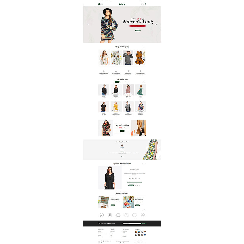 theme - Fashion & Shoes - Zalora Fashion Store - 2