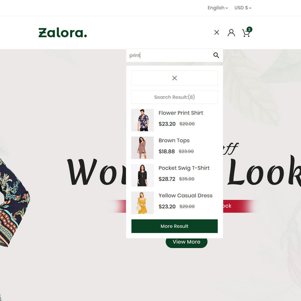 theme - Fashion & Shoes - Zalora Fashion Store - 8