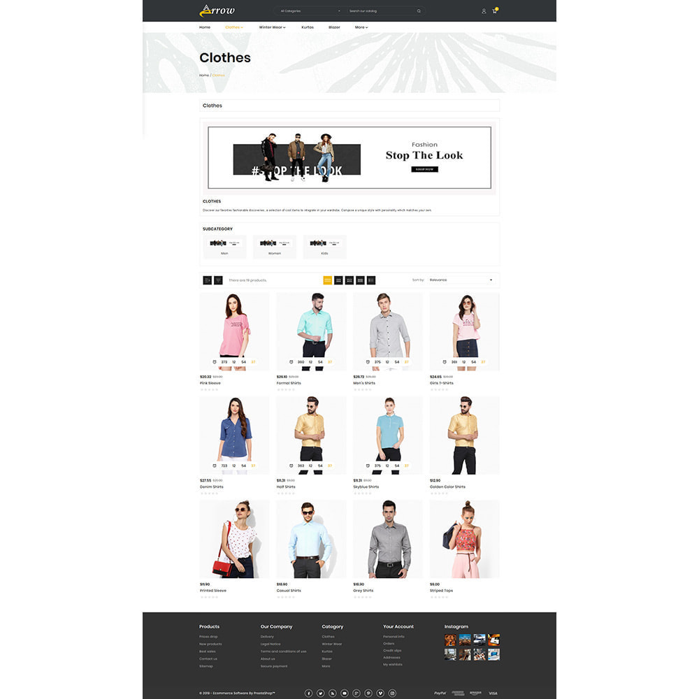 theme - Mode & Chaussures - Fashion Arrow - Fashion Store - 3
