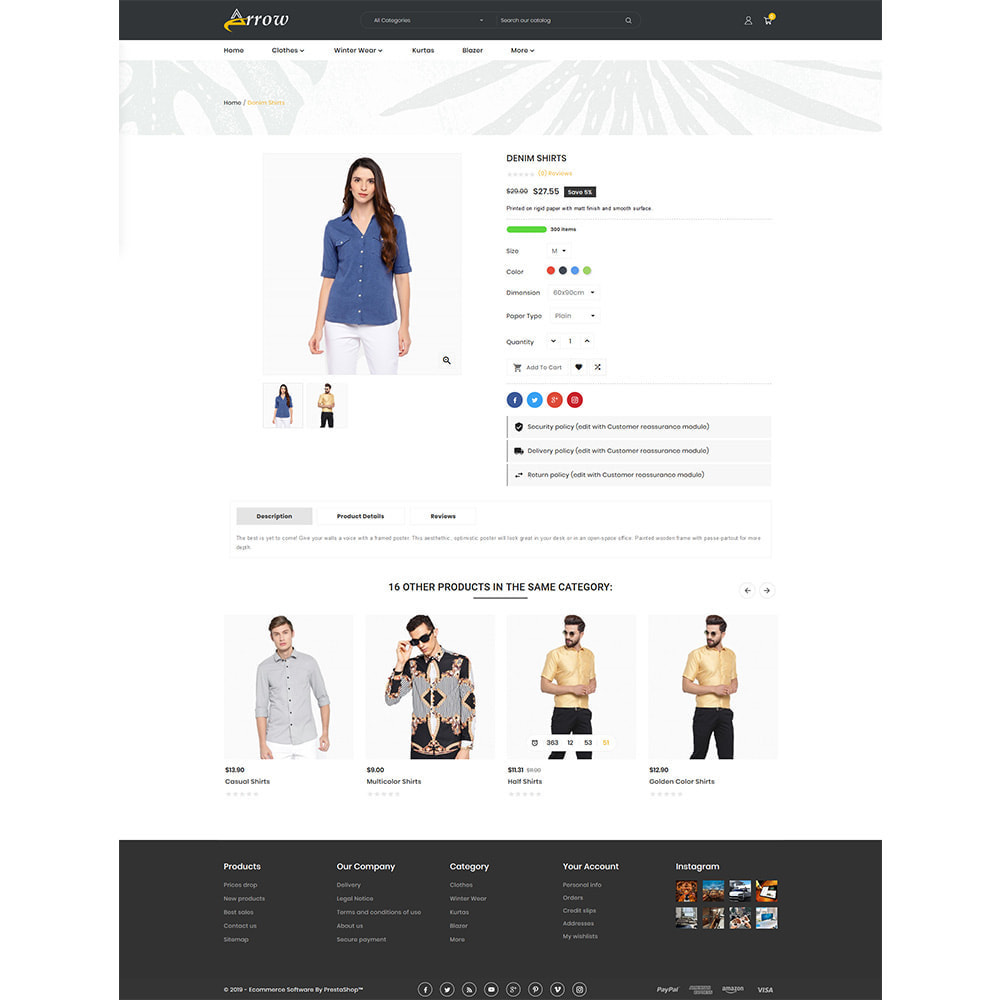 theme - Mode & Chaussures - Fashion Arrow - Fashion Store - 4