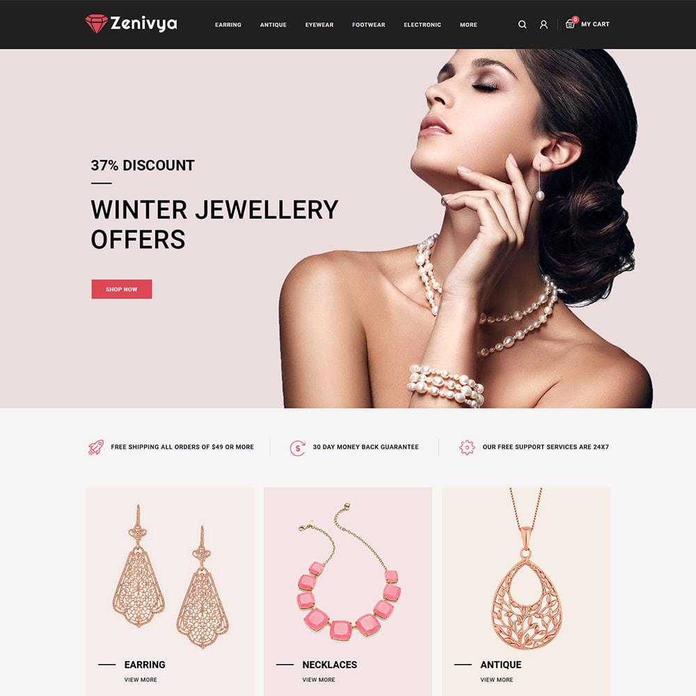 theme - Jewelry & Accessories - Zenivya - Jewelry Store - 2