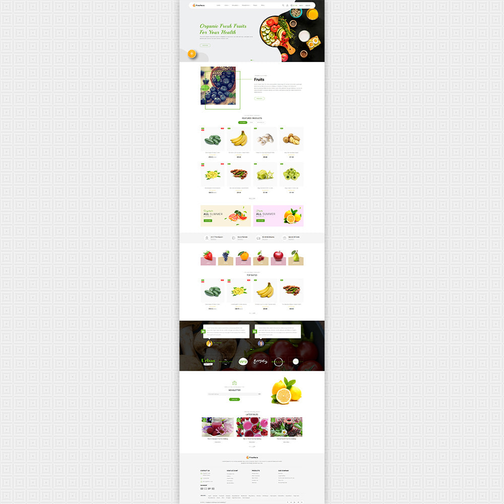 theme - Food & Restaurant - Freshero - The Best Organic Store - 2