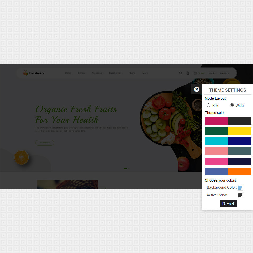 theme - Food & Restaurant - Freshero - The Best Organic Store - 8