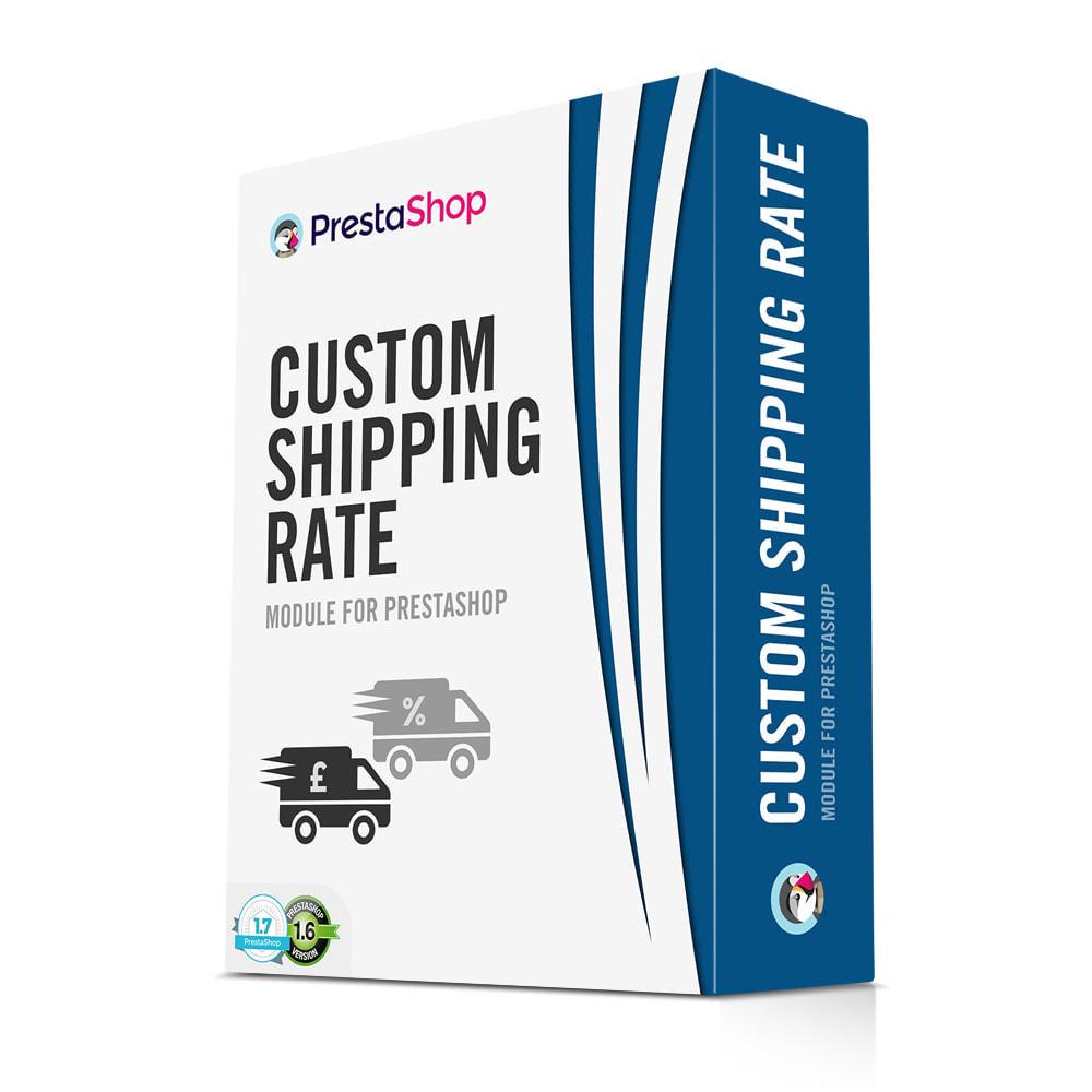 module - Gastos de transporte - Cotización de envío - Tarifa de envío personalizada - 1