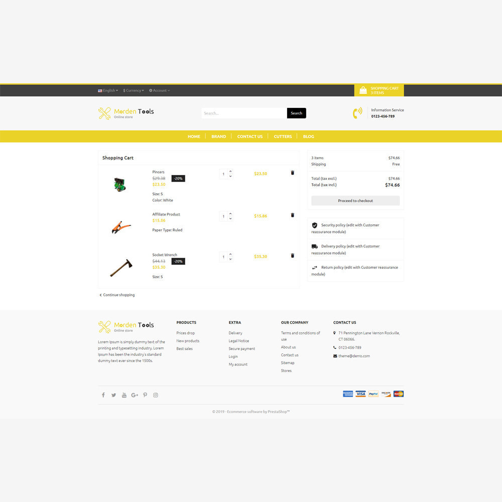 theme - Auto & Moto - Tool - Magasin réactif - 6