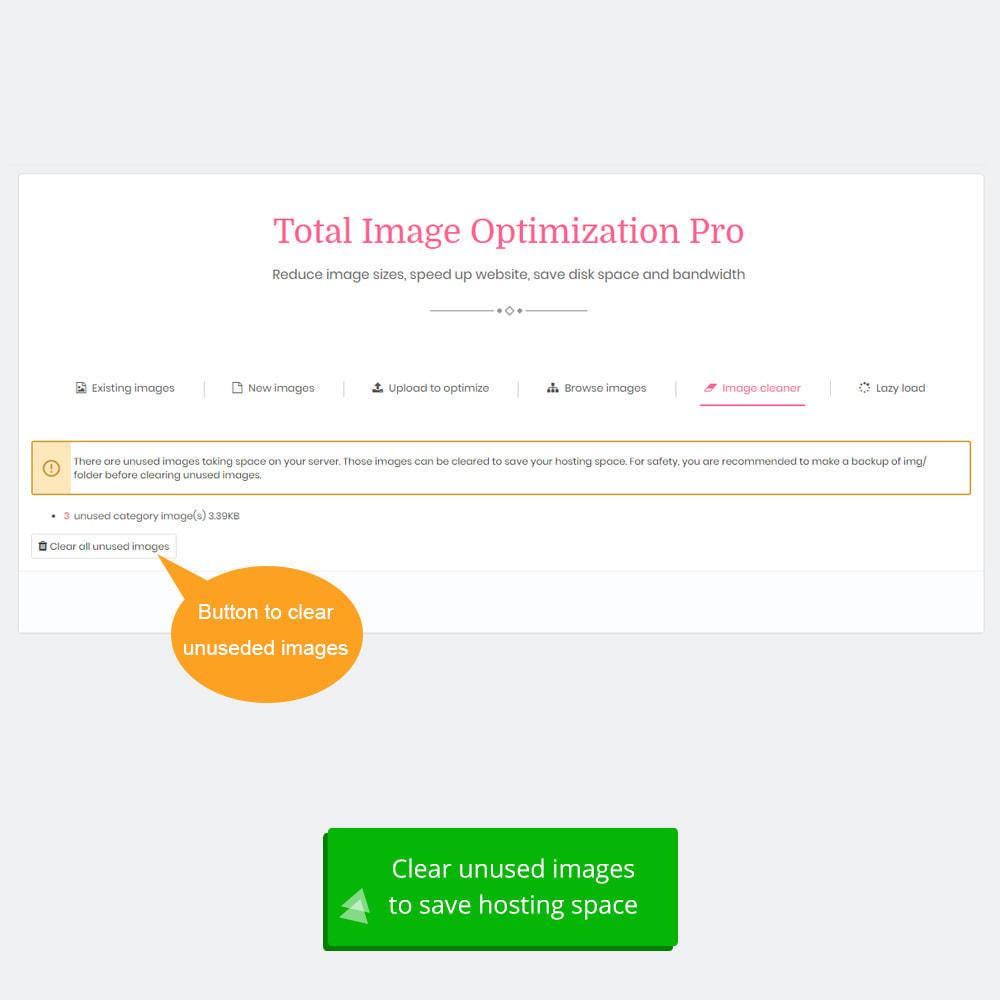 module - Wydajnośc strony - Total Image Optimization Pro - 9