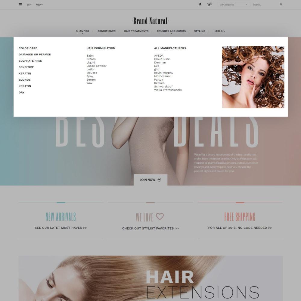 theme - Salute & Bellezza - BrandNatural - Beauty Hair Salon - 7
